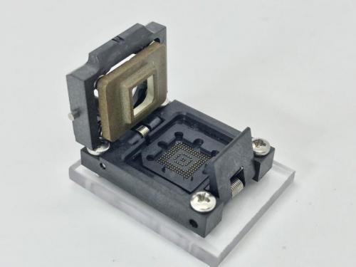 1-Optical Open Top FOV Socket-Open View.