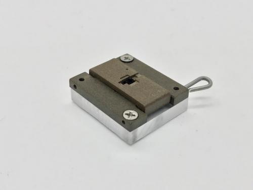 5-Low Profile Optical FOV Latch Pin Socket-Closed View.