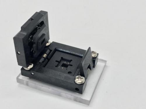 8-Device Bottom Access Socket-Open View.