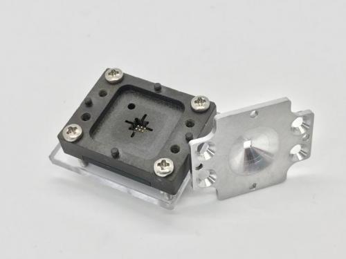 4-Optical FOV Screw Down Lid Socket-Open View.