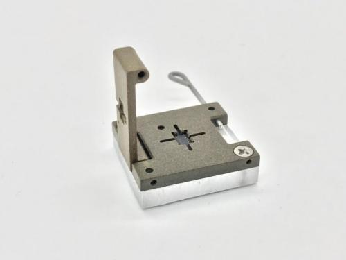 5-Low Profile Optical FOV Latch Pin Socket-Open View.